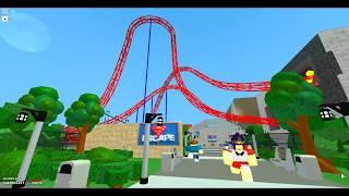 Superman Escape Recreation - Roblox Themeparktycoon2 (updated)