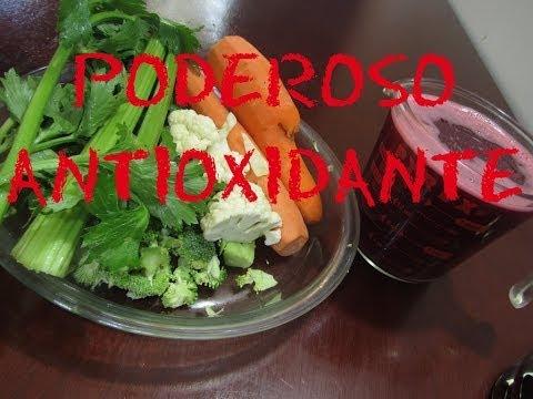 Poderoso antioxidante, contra tumores y el cáncer!