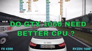 Is AMD FX 4300, Still good for gaming ? vs Ryzen 1600 | GTX 1060