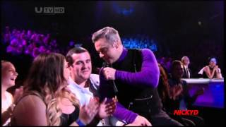 Robbie Williams ~ Candy (Live X Factor UK)