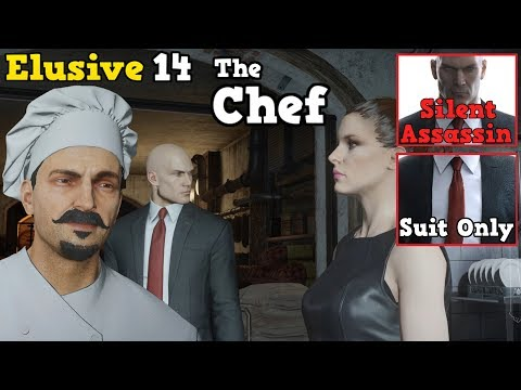 HITMAN Elusive Target #14 The Chef Easy Guide Silent Assassin,Suit Only