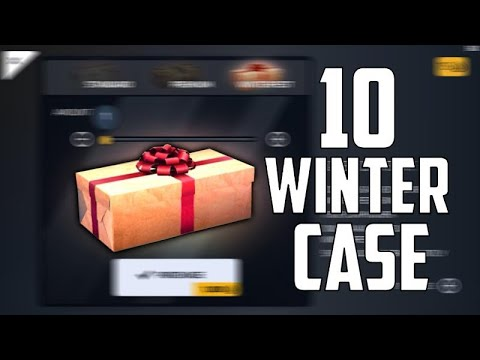 Critical Ops - 10 WINTER CASE OPENING (Winter Skins Opening and Gameplay)