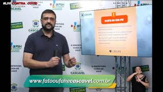 #LiveContraaCovid #13 | Secretário Thiago Stefanello - Novo decreto
