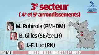 Elections municipales à Marseille : quels sont les candidats du 2e tour ?