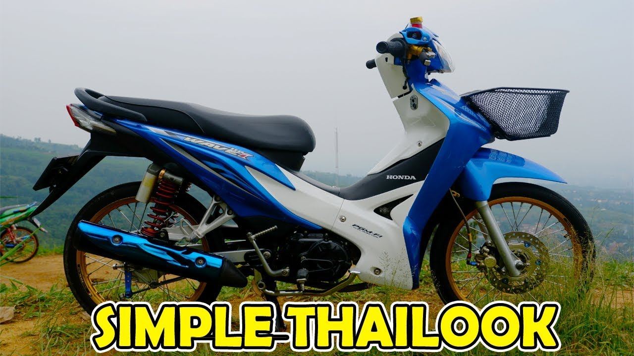 Review Modifikasi Wave 110i Revo Fit 110 Simple Thailook Youtube