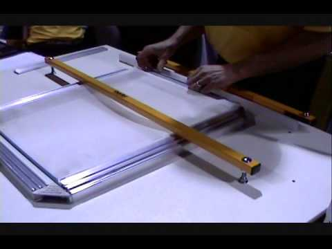Screen Printing: Stretching Screens With Easy Frame - YouTube