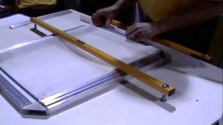 Screen Printing: Stretching Screens With Easy Frame