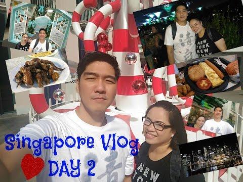 Singapore Travel Vlog Day 2 | tour + diaries + shopping