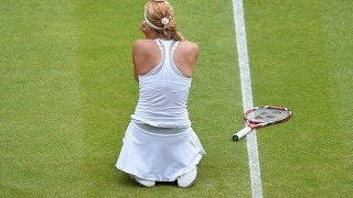 2013 Wimbledon R4 Lisicki vs S.Williams Highlights