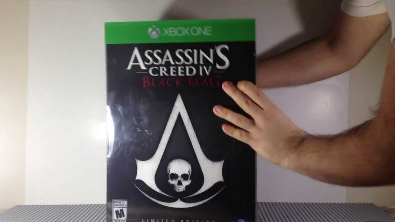 Assassins Creed 4 Black Flag Limited Edition For Xbox One ...
