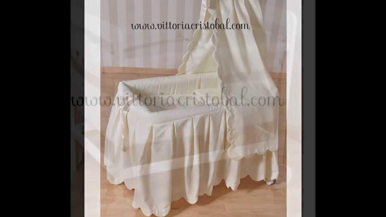 Berceaux b b berceau b b blanc beaux berceaux en vente chez - Comment habiller un berceau en osier ...