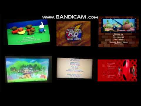 Blue's Clues, Bob the Builder, C N' D, Dragon Tales, Miffy, ML and Miraculous Credits Remix