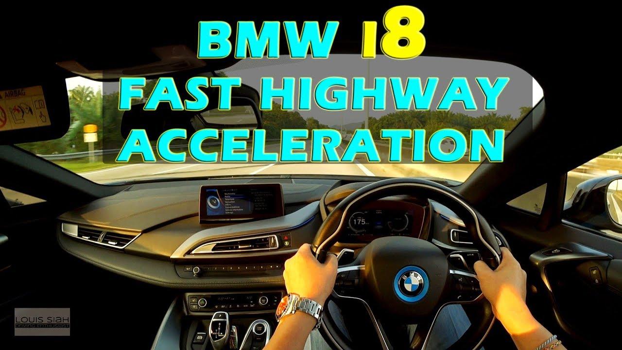 2018 Malaysia Bmw I8 Fast Acceleration Pov Drive Bmwi8