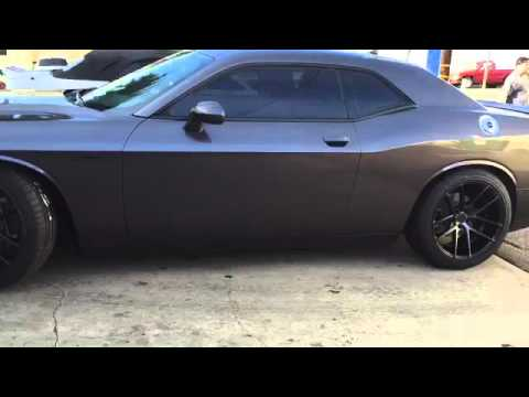 2016 Challenger Sxt >> 2015 Dodge Challenger on niche targa m130 wheels - YouTube