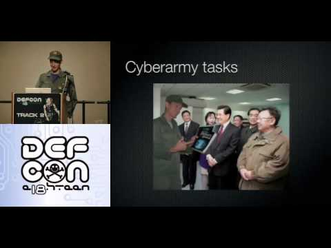 Charlie Miller - Kim Jong-il and Me: How to Build a Cyber Army to Defeat the U.S.