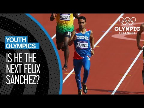 Luguelin Santos - Aiming to follow in Felix Sanchez's footsteps | Youth Olympic Games