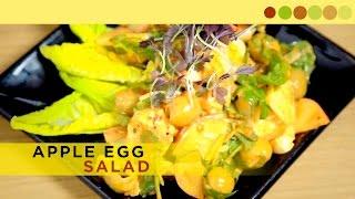 Apple Egg Salad | Healthy Salad Recipe | Chef Atul Kochhar