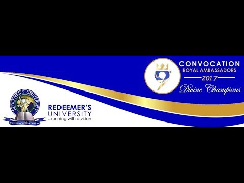 CONVOCATION CEREMONY OF REDEEMER