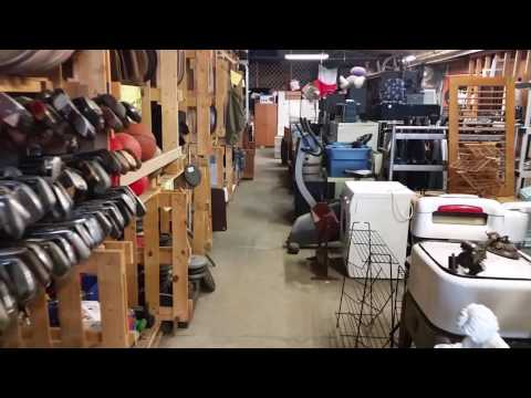 Virtual Tour Roosevelt Tower Antiques Thrift store!