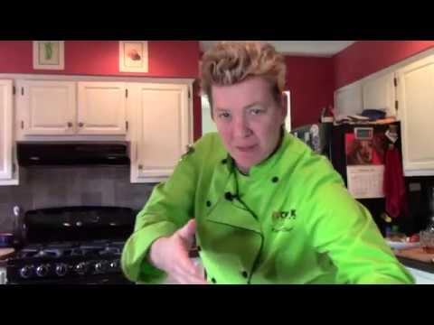 Chef K Cooking #2: Grilled Stuffed Portobello Mushrooms