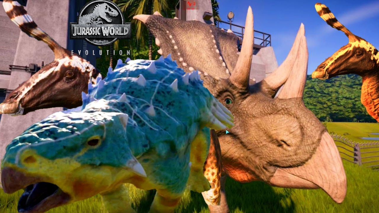 jurassic world bumpy  clip and play with jurassic world
