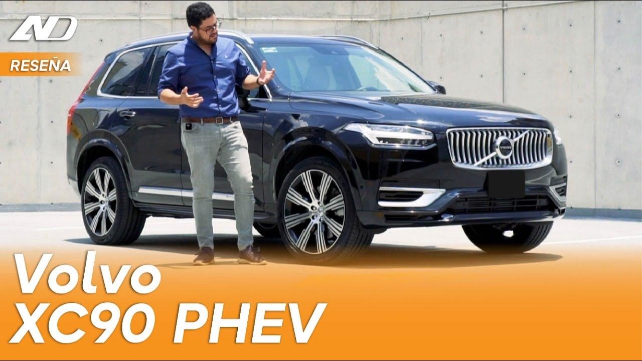 Volvo XC90 PHEV ⭐️ - La sofisticación escandinava para 7 personas