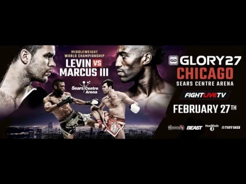 GLORY 27 Chicago - Broadcast Live in Australia!