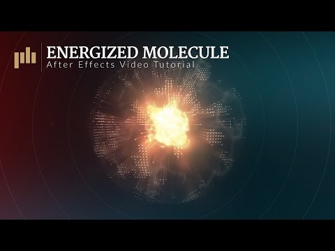 Energized Molecule: After Effects Video Tutorial