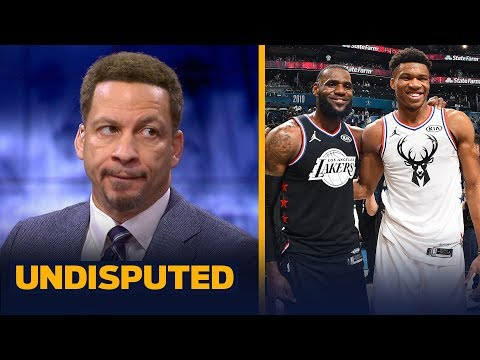Chris Broussard gives his prediction for tonight's Lakers vs. Bucks game | NBA | UNDISPUTED