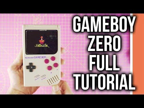 Game boy Zero Tutorial