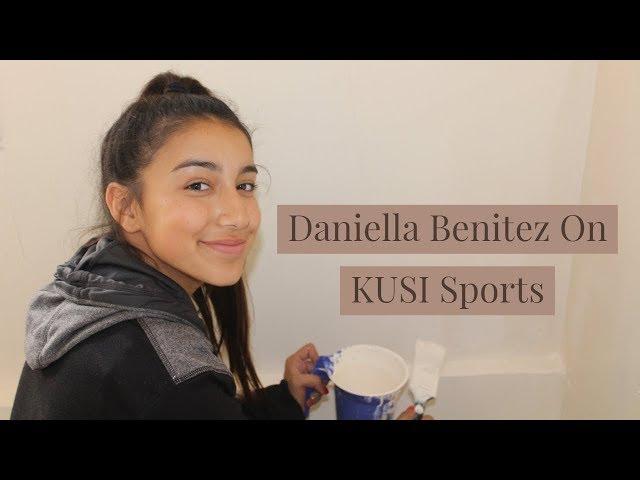 Daniella Benitez On KUSI Sports!!!