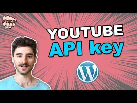 YouTube API Key For WordPress Plugin