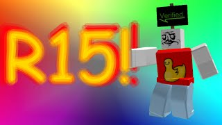 How to activate R15 in Roblox