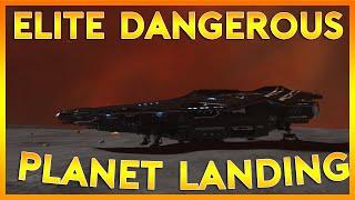 Elite Dangerous Horizons Gameplay | PLANETSIDE LANDING | Part 5 (Elite Dangerous 2016 PC Gameplay)