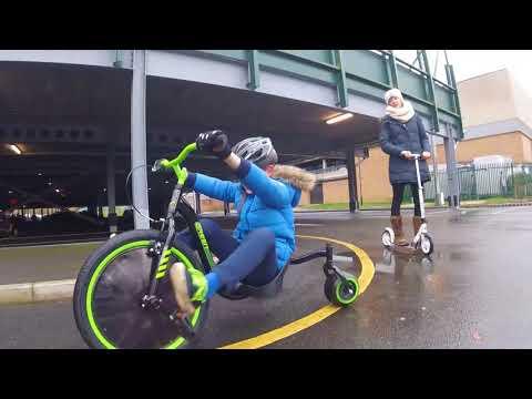 huffy slider green machine 3 wheel trike drift bike