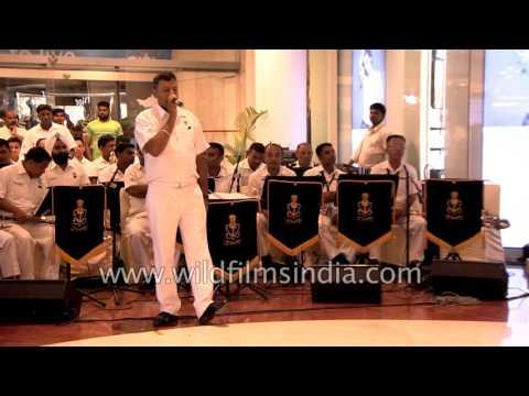 Indian Navy Band Plays 'Dama Dam Mast Qalandar'