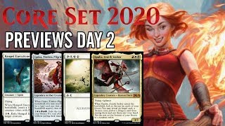 Mtg Core Set 2020 Previews and Spoilers Day 2: New Kaalia, Golos, and More!