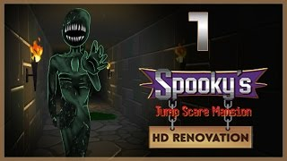 МИЛЫЙ ПИ*ДЕЦ ● Spooky's Jump Scare Mansion HD Renovation #1
