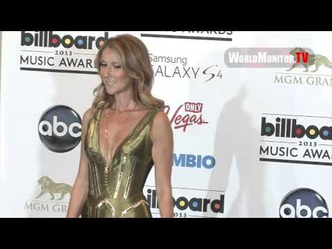 Celine Dion at Billboard Music Awards 2013 Backstage