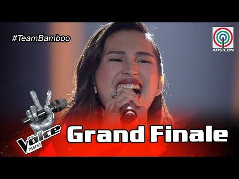 The Voice Teens Philippines Grand Finale: Isabela Vinzon - Rise Up