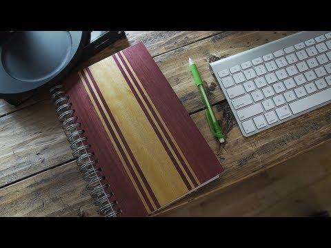 Woodworking: Wood Notebook Build