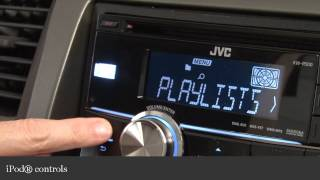 JVC KW-R500 Car CD Receiver Display and Controls Demo | Crutchfield Video