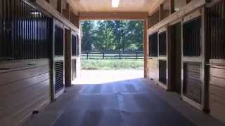 King Barns - Video Barn Tour of Epic Farm, Middlefield, CT