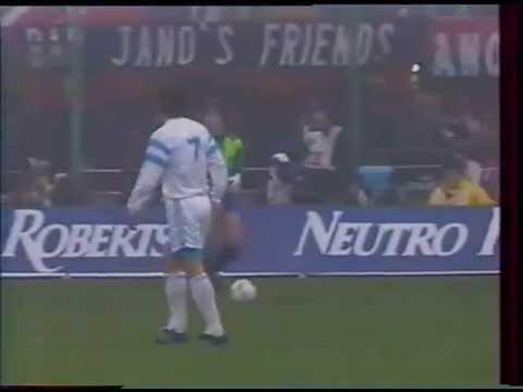 MILAN AC   -  MARSEILLE                    1991