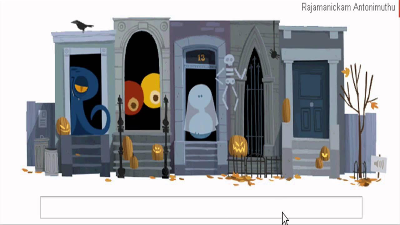 Happy Halloween 2012 Google Doodle For Halloween