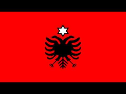 Bandera de Albania (1960) - Flag of Albania (1960)