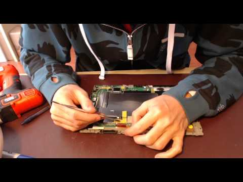 Asus TF101 Transformer Series Broken Docking Port Replacement Laptop Power Jack Repair