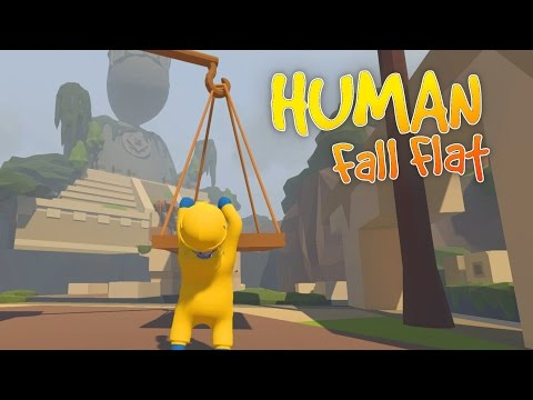 Human Fall Flat - Exploring Aztec Ruins! - Let's Play Human Fall Flat Gameplay
