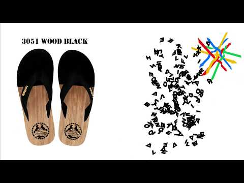 LEVITATE FLIPFLOP 3051 WOOD SERIES COMMERCIAL NEW