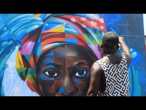 Ghana hosts Chale Wote Street Art Festival in James Town